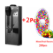 Capsule-Box CIGARETTE-FILTER Mixed-Bursting-Beads Fruit-Flavor Portable Simple for 100pcs