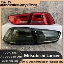 Lampa tylna do Mitsubishi Lancer 2008-2017 Lancer EX tylne światła LED światła przeciwmgielne światła dzienne DRL Tuning akcesoria samochodowe
