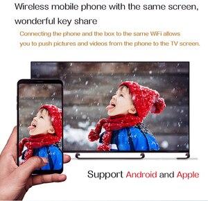 Image 4 - LEMFO TV Box أندرويد 9.0 H96 MAX + 4GB RAM 64GB 32GB H.265 4K HDMI 2.0a 2.4G/5G WiFi ثلاثية الأبعاد Netflix يوتيوب مشغل جوجل مجموعة صندوق