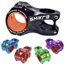 Shikra haste da bicicleta de estrada montanha haste ultraleve 35mm 31.8mm guiador haste 50mm riser mtb am xc dh haste