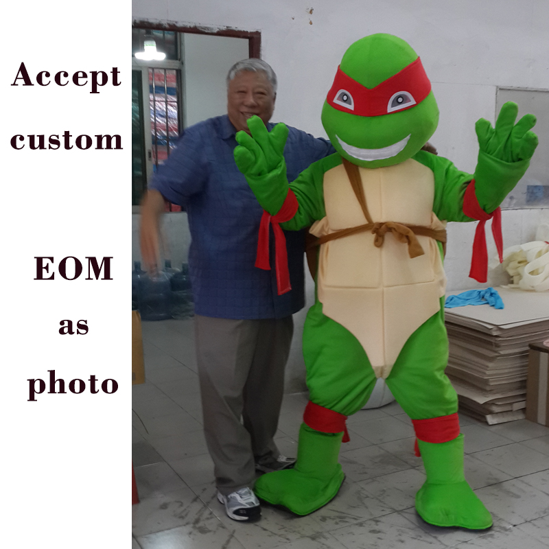 Turtle Mascot Costume Unisex mascot Apparel Cosplay Tortoise Costumes Cuckold Walking Actor Festival Costume Adult Size cosplay in Mascot from Novelty Special Use