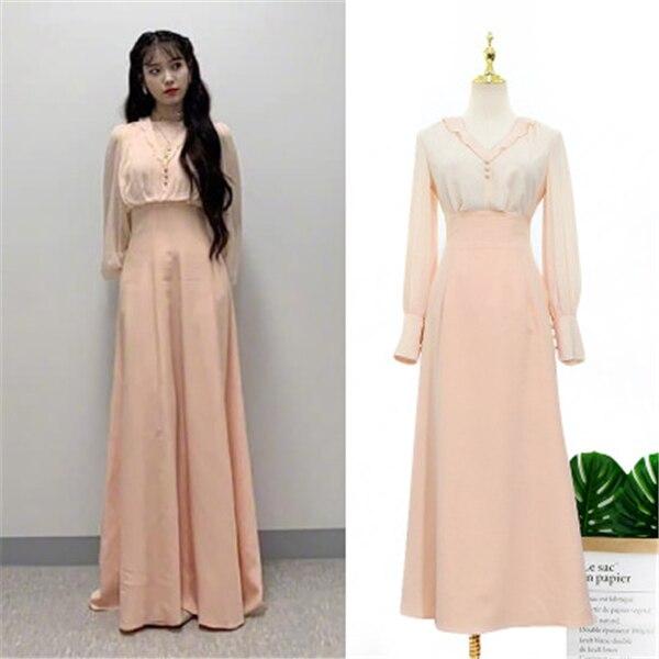T-shirt +skirt For Women DEL LUNA Hotel Same IU Lee Ji Eun Maternity Clothes Summer Top Pregnancy Pregnant Coat