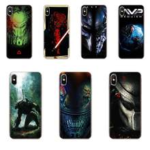 Alien Vs Predator For Apple iPhone 4 4S 5 5C 5S SE 6 6S 7 8 11 Plus Pro X XS Max XR Soft Silicone TPU Transparent Printing(China)