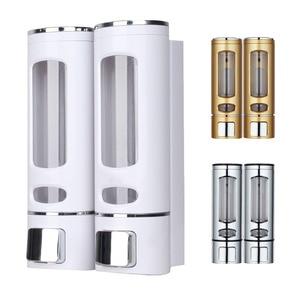 Single/Double 400ml Soap Dispenser Wall-mount Shower Bath Shampoo Dispenser Liquid Soap Container Bathroom Washroom Accessories(China)