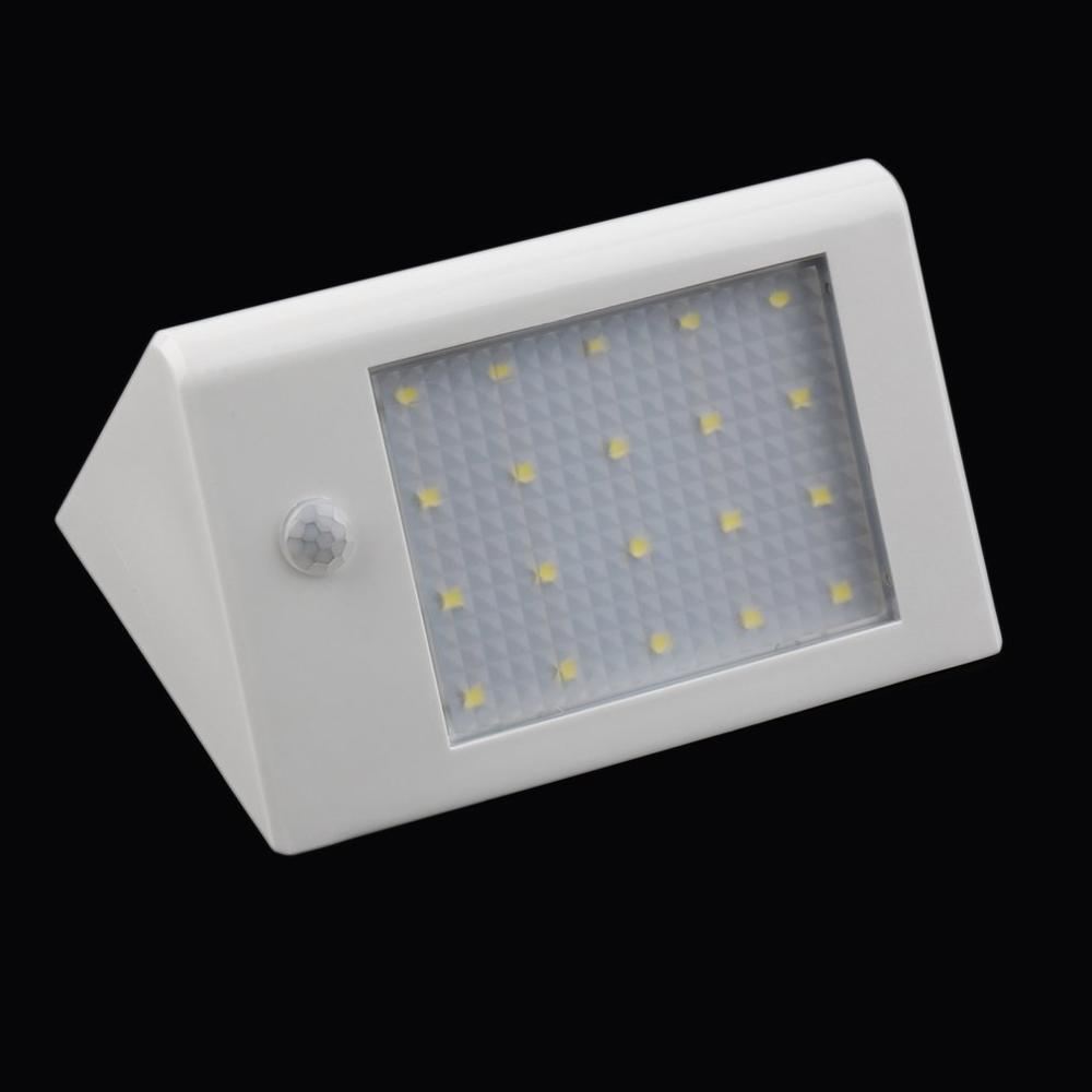 Long Lighting Hours Intelligent Energy-saving 20 LED 3.5W 440 LM Solar Power Light Lamp Garden Lamp Infrared Induction Bright
