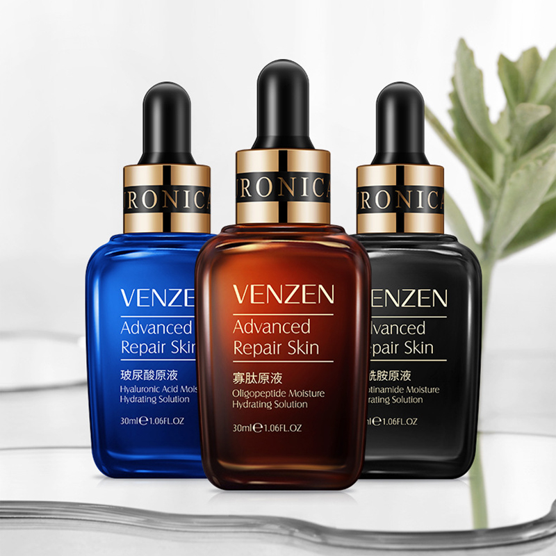VENZEN Hyaluronic Acid Face Serum Anti-Aging Wrinkle Essence Cream Lift Firming Whitening Moisturizing Skin Care 30ml TSLM2