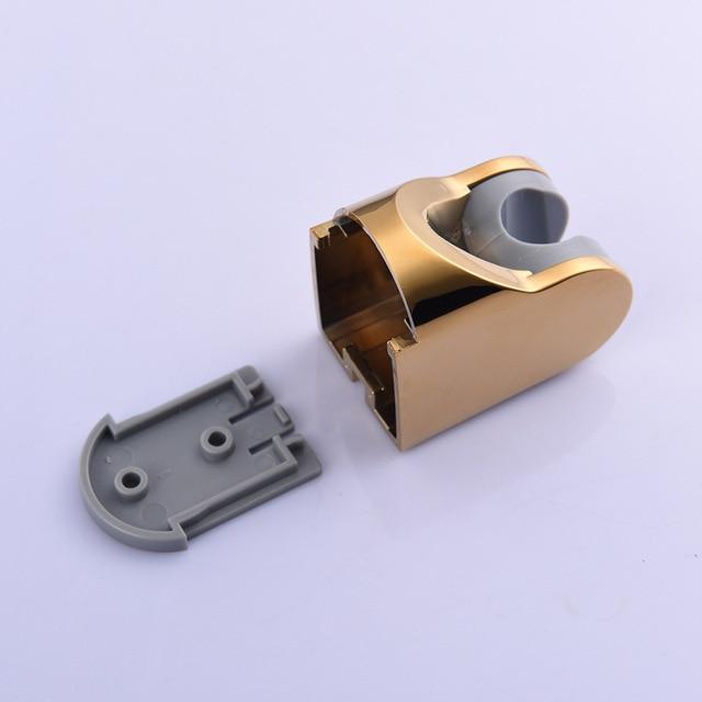 Pomme de douche en or salle de bains | Avec support à monture en ABS et tuyau de 1.5m à haute pression, pomme de douche à main économie deau
