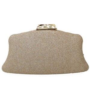 Image 2 - Boutique de fgg glitter feminino embreagem cristal sacos de noite nupcial formal jantar bolsas e bolsas festa casamento diamante saco