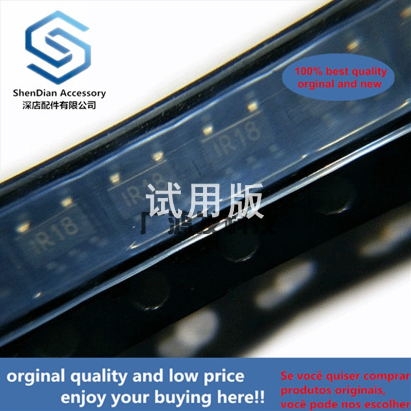 10pcs 100% Orginal New SPX5205M5-L-1-8 / TR LDO Voltage Regulator 1.8V SOT-153 SOT23-5