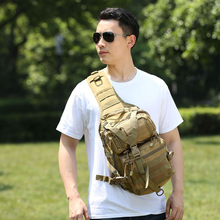 Waterproof Oxford Hiking Trekking Backpack Sports Climbing Shoulder Bags Tactical Camping Hunting Outdoor Military Shoulder Bag canvas multi layer hiking trekking bag tactical military men sports and climbing waist bag new outdoor bum hip bag
