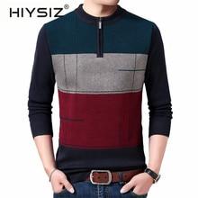 HIYSIZ Brand 2019 Streetwear Winter Autumn Knit pu