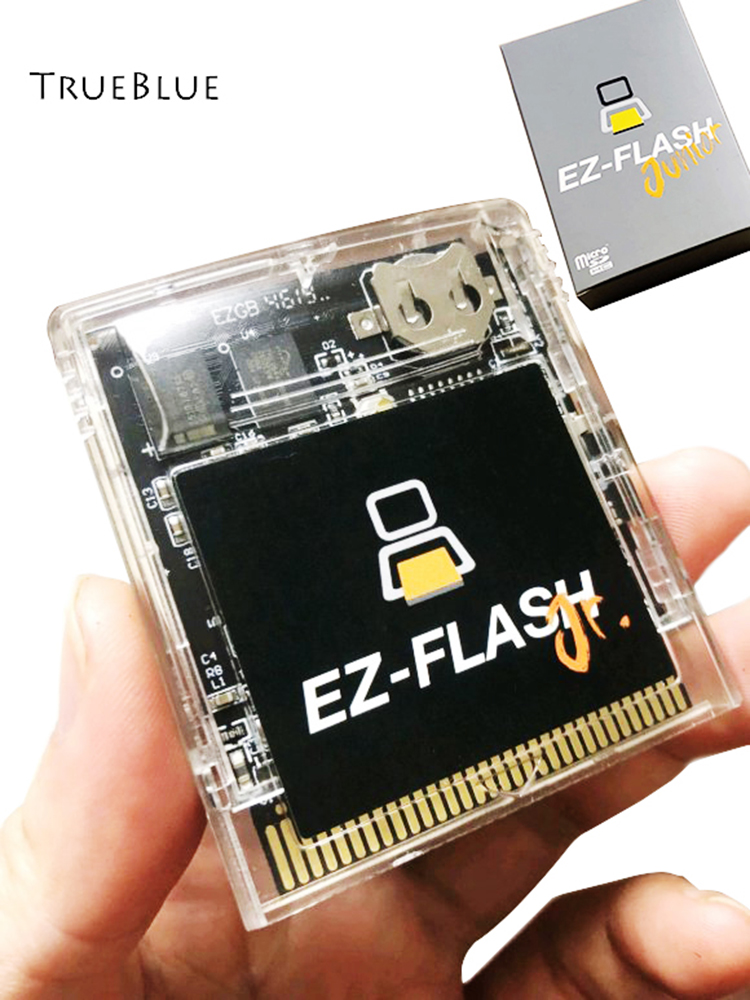 Real Time Clock Support Micro-SD 32GB For EZ-Flash Junior Battery Save