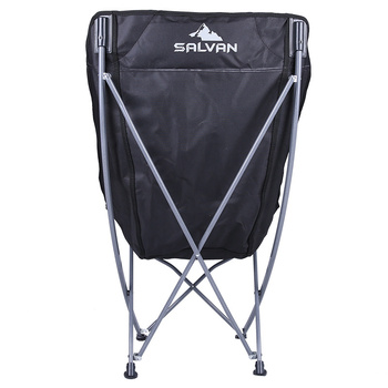 Outdoor Folding Chairs Fishing Chair Portable Camping Stool Foldable Chair with Double Layer Oxford Fabric Cooler Bag