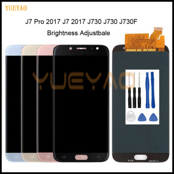 5.5 LCD for SAMSUNG Galaxy J7 Pro 2017 J730 Display Touch Screen Digitizer Assembly for SM-J730F J730FM/DS J730F/DS J730GM/DS image