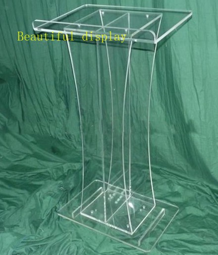 Free Shipping Clear Retail Podium Church / Cheap Clear Pulpit Of The Church