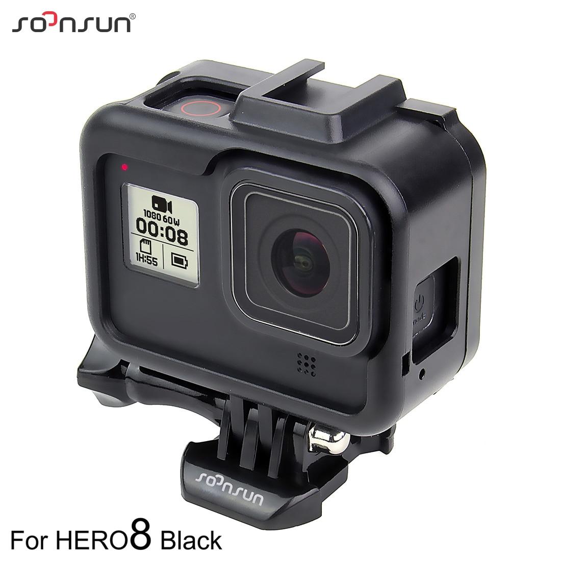 Cubierta Impermeable Submarina Funda para GoPro HD Hero Helmet Hero 960