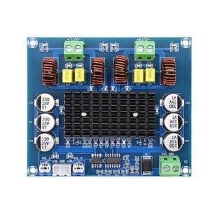 Image 1 - XH A303 предустановленный op amp TPA3116D2 цифровой усилитель мощности TPA3116 стерео 120 Вт + 120 Вт аудио усилитель