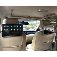 12.5 Slim IPS LCD Screen Auto Seats Headrest DVD Player TV Monitor For Infiniti Rear Seat Entertainment System 4K Video Display