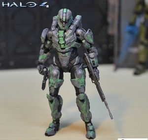 Image 5 - 6inch 15cm size Halo Sparta Master John 1/6 scale action figure doll hard PVC Cortana Chief er model collection toy