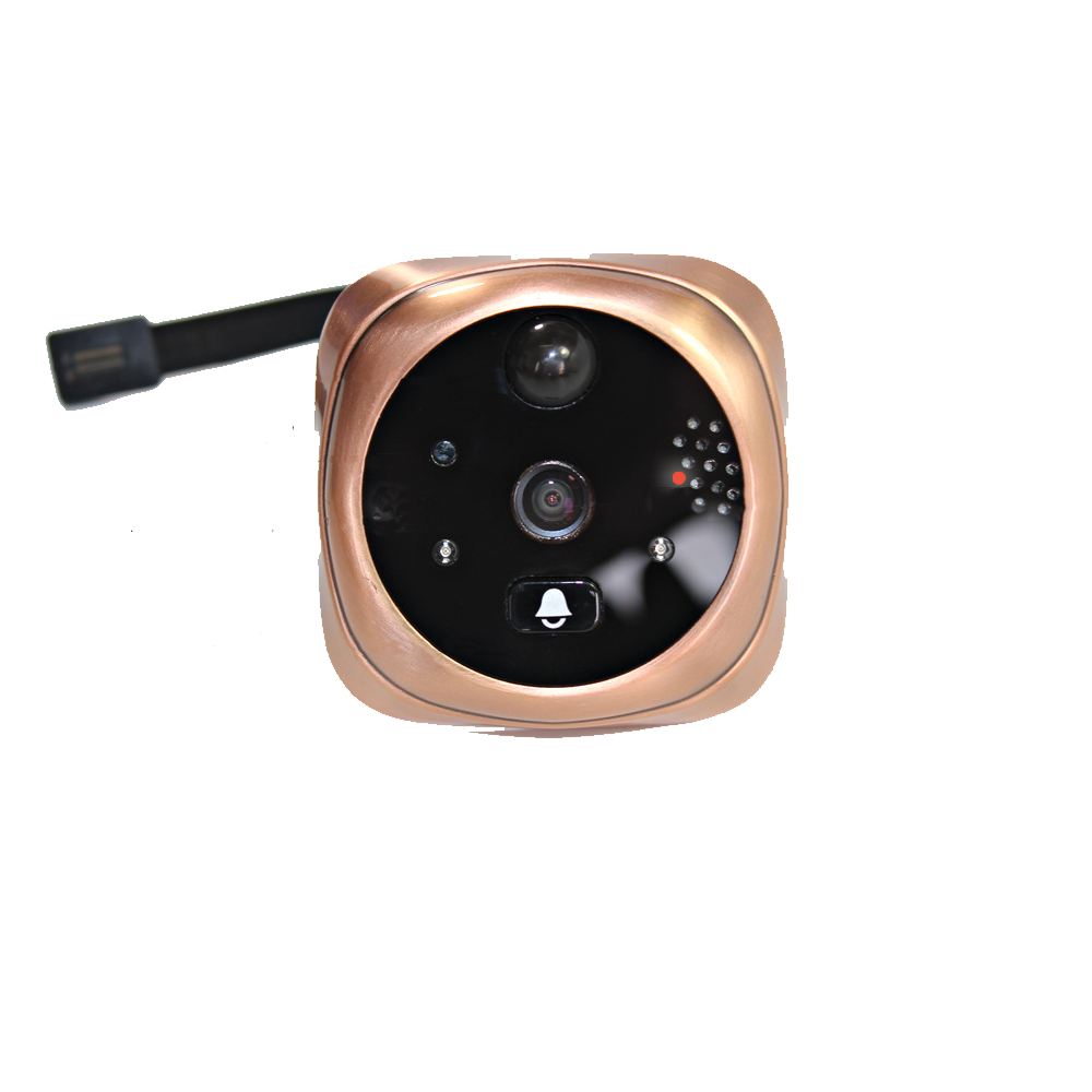 Topvico Camera + Connect Cable Of Peephole Wifi Doorbell Camera Replacement Model A B C Not With Monitor