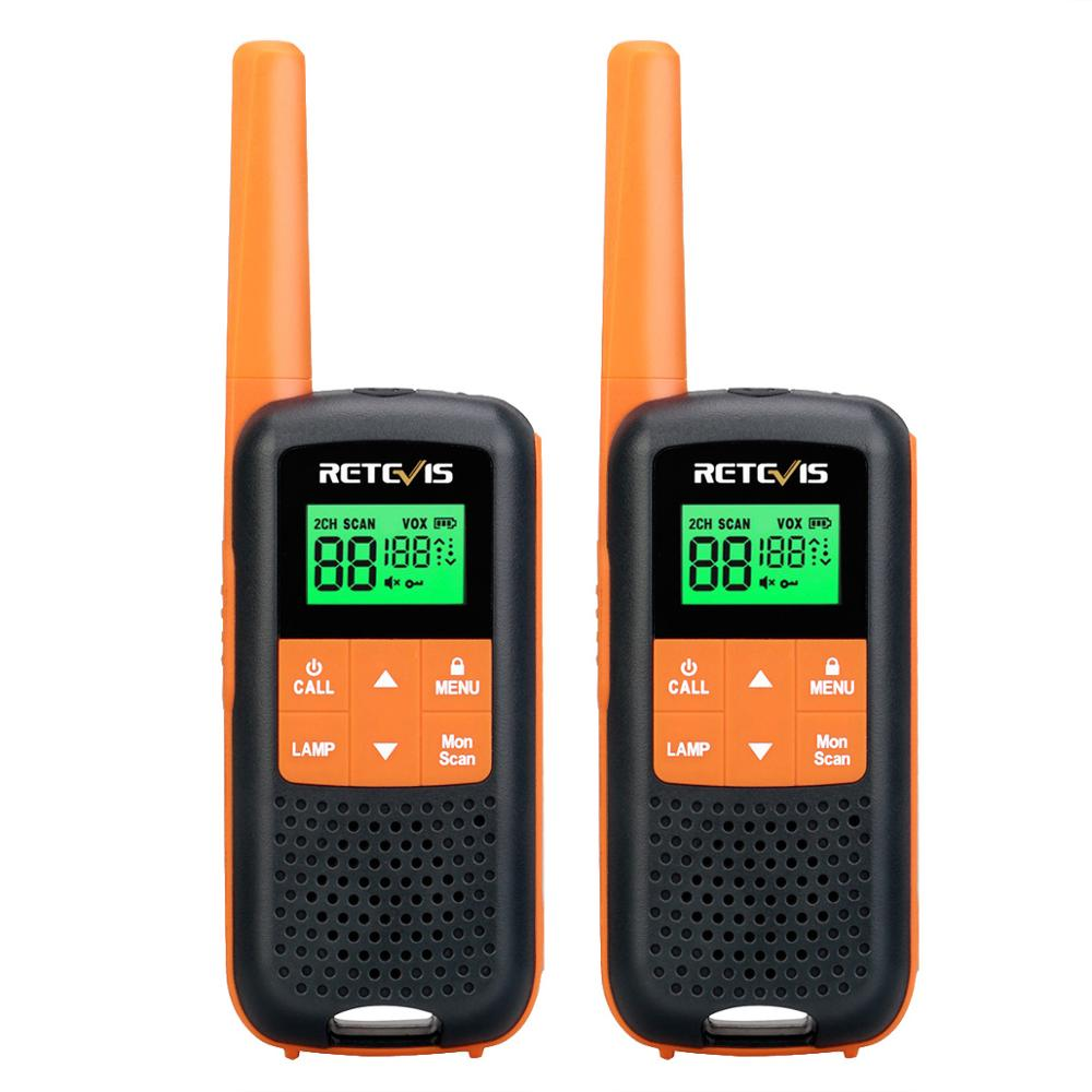 Retevis RT649/RT49 Walkie Talkie 2pcs PMR446 FRS Family Use Radio IP54 Waterproof For Hunting NOAA VOX Emergency Walkie-talkies