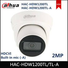 Dahua 2mp hdcvi ir câmera ocular HAC-HDW1200TL HAC-HDW1200TL-A built-in mic (-a) ir 30m ip67 à prova dip67 água hdcvi câmera