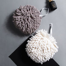 Hands-Towels-Ball Kitchen Wipe for Child 2pcs Hanging Prevent-Bacterial-Growth Health