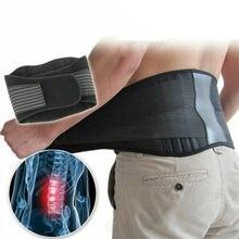 Ajustável voltar cintura cinto de apoio cintura auto aquecimento terapia magnética cinta lombar massagem banda alívio da dor cuidados de saúde