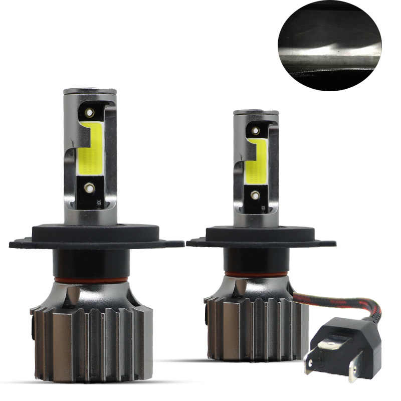 2PCS Car Headlight H4 H7 LED Mini Lamp H1 LED Bulbs H3 H11 Headlamp Kit 9005 HB3 9006 HB4 For Auto 12V Fog Lights 6500K 11000LM