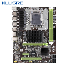 Kllisre X58 LGA 1366 האם תמיכה REG ECC שרת זיכרון xeon מעבד