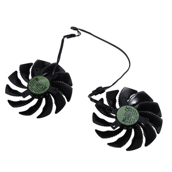 88MM Graphics Video Card Fan Cooler T129215SU PLD09210S12HH for Gigabyte GeForce GTX 1050 1060 1070 Ti RX 480 470 G1 R9 380X GV- image