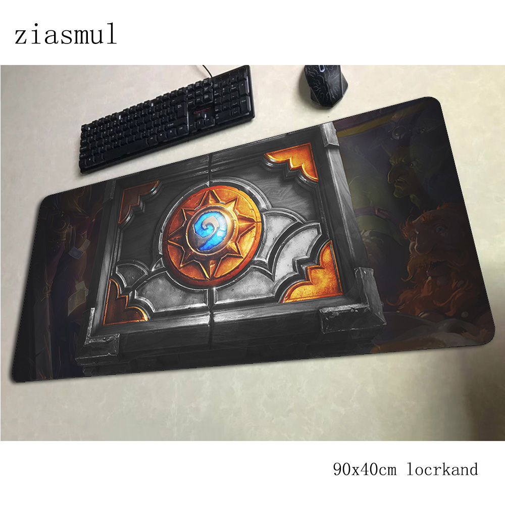 hearthstone <font><b>padmouse</b></font> <font><b>900x400x3mm</b></font> gaming mousepad game New arrival mouse pad gamer computer desk anime mat notbook mousemat pc image