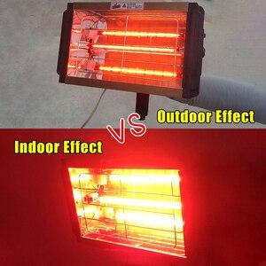 Image 1 - 1000W רכב צבע ריפוי ייבוש מנורת רכב גוף אינפרא אדום צבע מנורת כף יד הלוגן דוד אור בגלים קצרים אינפרא אדום מנורה