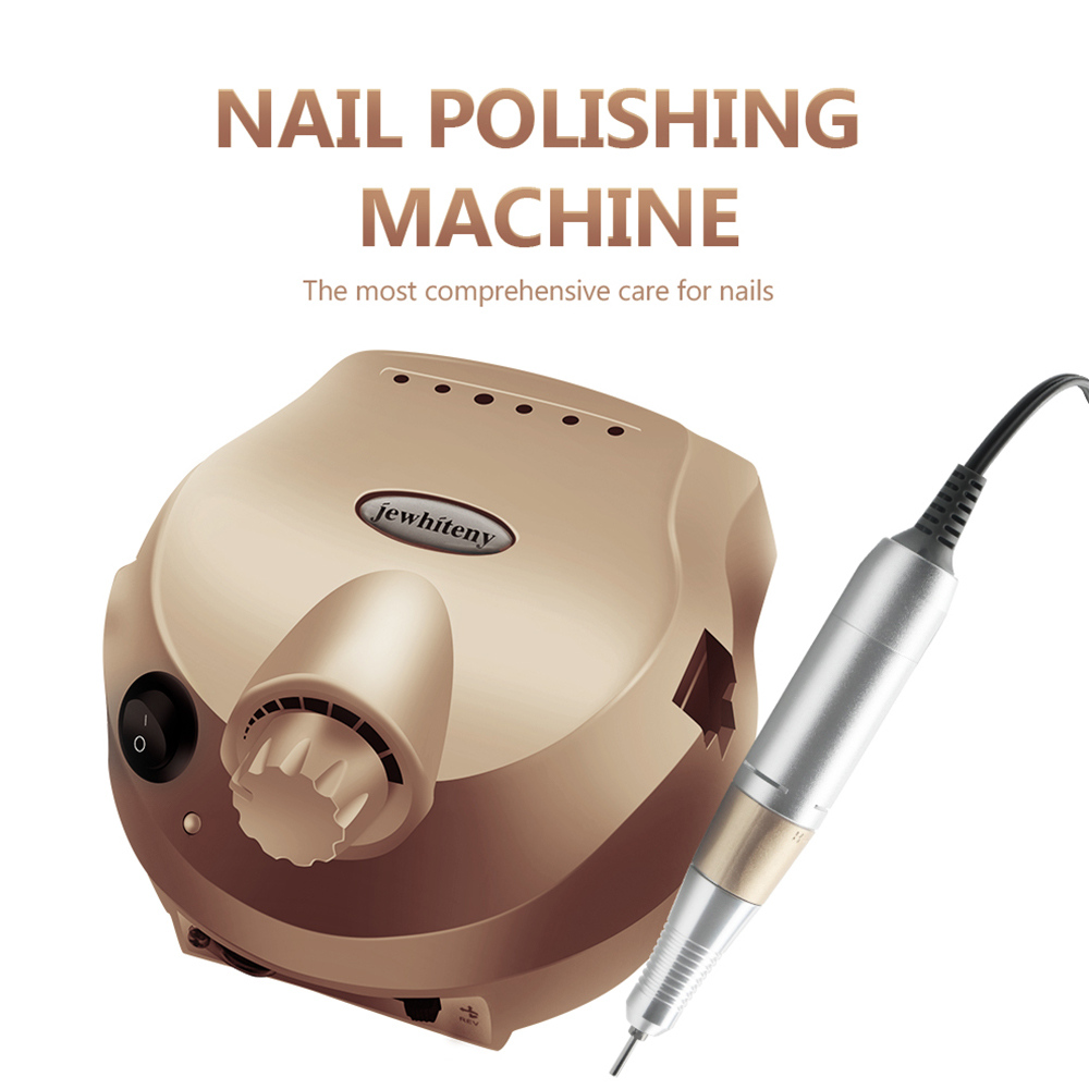 RPM 35000/20000 Electric Nail Drill Machine Acrylic Nail File Drill Nail Cutter Bit Manicure Pedicure Kit Nail Art Equipment