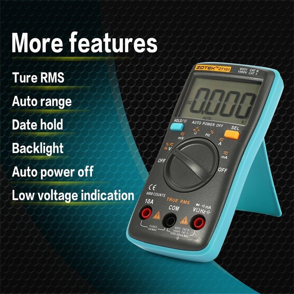 ZOTEK ZT101 Mini Auto Range Digital Multimeter 4