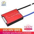 Daly 3,7 V 60V литий-ионная NMC батарея BMS 16S 15A 20A 30A 40A 60A PCM с балансом для электрического автомобиля, электровелосипеда, скутера, солнечной батареи