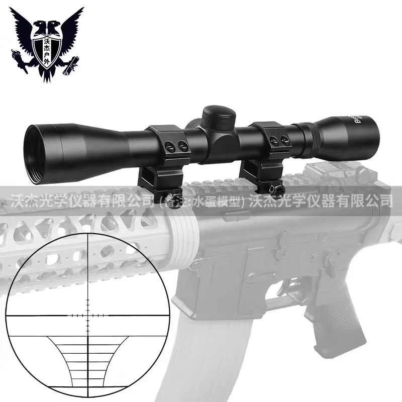 B מותג 4X32 אופטי Sight חרוט זכוכית טקטי Riflescope Sight היקף רובה ציד אופטיקה red dot sight הולוגרפי cqb