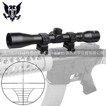 B Merk 4X32 Optische Sight Geëtst Glas Tactical Riflescope Sight Scope Rifle Jacht Optics Red Dot Holographic Sight Cqb