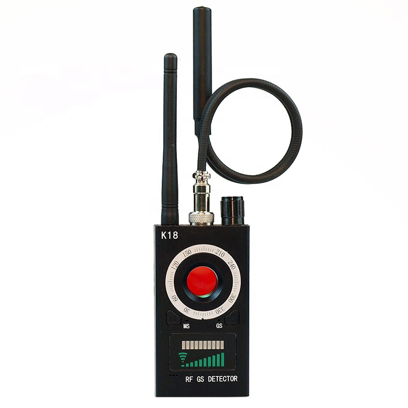 Wireless Multi Function Anti Spy Detector Camera GSM Finder GPS Signal Lens RF Tracker K18