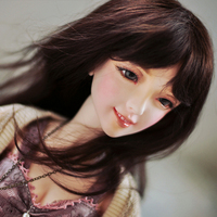 3 points BJD doll SD doll Smiley resin movable ball joint doll