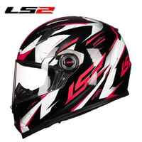 LS2 FF358 Full Face Motorcycle Helmet jet Men Women Motorcross Helmet Moto Casque Cascos Para Moto Capacetes de Motocicleta