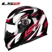 LS2 FF358 casco de Moto de cara completa jet hombres mujeres casco Para motocross Moto casco Para Moto capacetes de Motocicleta