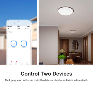 Image 4 - Itead Sonoff Dual R2 2 Gang Wifi Light Smart Switch Time Schedule Smart Scene via eWeLink Works With Alexa Google Home IFTTT