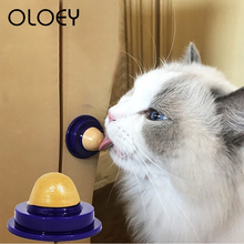 Healthy Cat Catnip Sugar Cats Snacks Licking Candy Nutrition Energy Ball Toys for Kitten Playing Pet Products