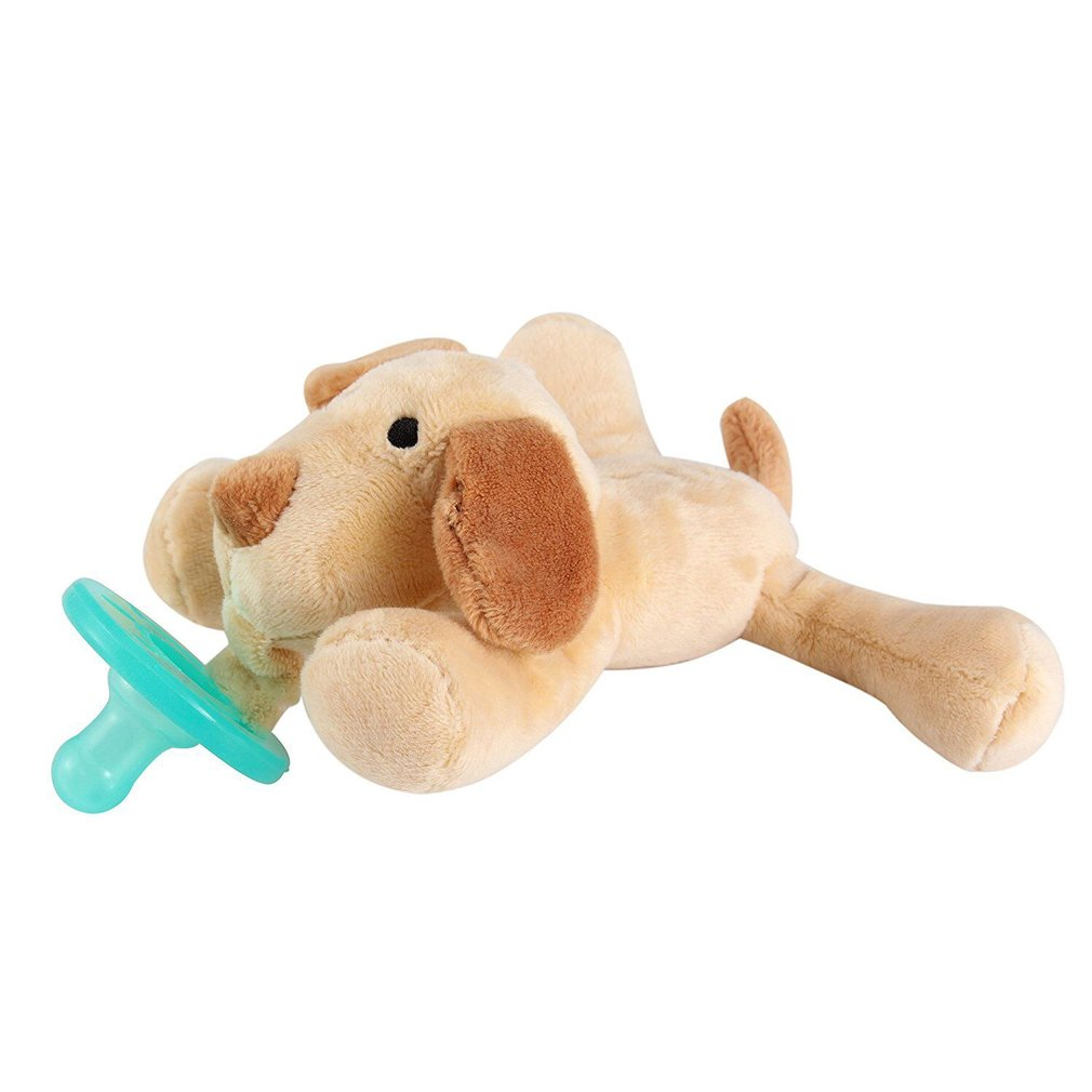 Cute Baby Pacifier Holder Stuffed Animal Baby Nipples Pacifiers Holder Baby Toys With Silicone Binky Teething Soother