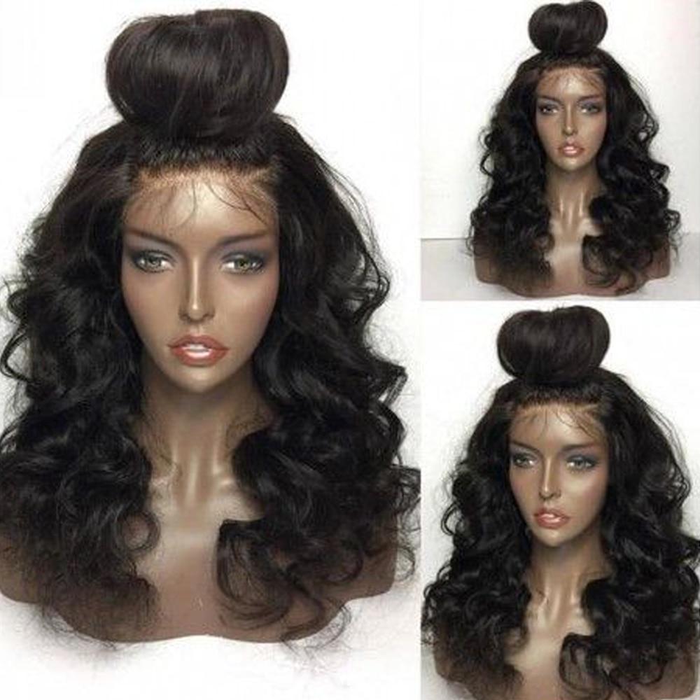 H7b0f92aedfbf49689fd7e802a82c677bG Body Wave 4*4 Lace Closure Human Hair Wigs For Women Brazilian Remy Hair Wigs With Baby Hair lace closure Wigs Queen Hair
