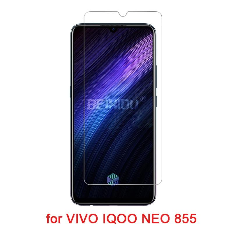 2 PCS Full Tempered Glass For VIVO IQOO NEO 855 Screen Protector 2.5D 9H Tempered Glass For VIVO IQOO NEO 855 Protective Film