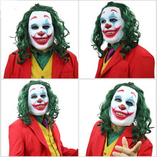 2019/Joker/ Mask/ Halloween Cosplay Jack Napier Mask Horror Movie BatmanS Enemy Costume Accessories Scary