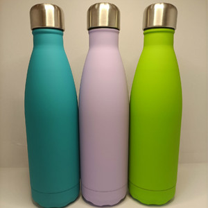 Image 2 - 500ML Double Wall 304 Stainless Steel Thermal Flask Fashion Vacuum Thermos Outdoor Portable Sport Thermal Drink Water Bottle