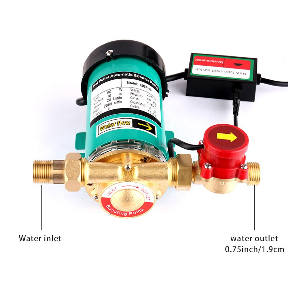 SHYLIYU Mini Electric Pressure Pump 3/4